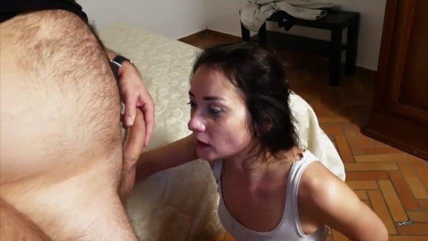 צעירה פצצה אוהבת שדופקים לה את הפנים - סרטי סקס